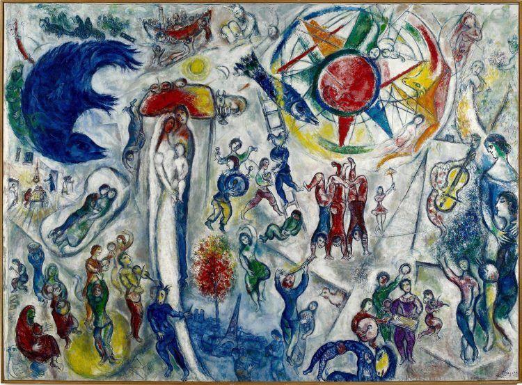 Marc Chagall. La Vie. L'artista russo in mostra ad Aosta al Forte di Bard_La Vie_MilanoPlatinum (© Chagall®, by SIAE 2016)