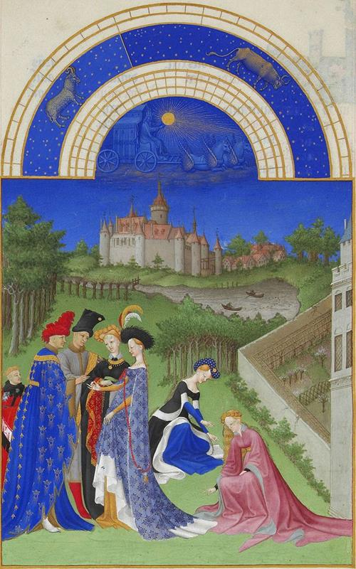 Aprile - Public Domain via Wikipedia Commons