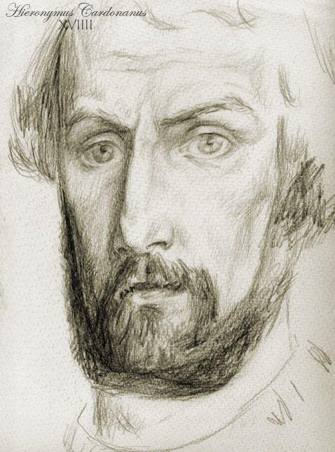 Ritratto di Gerolamo Cardano (public domain, via Wikimedia Commons).