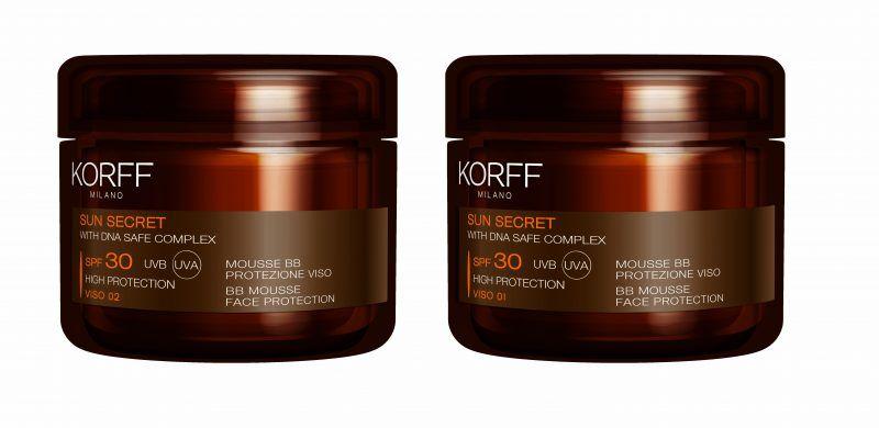 Korff Sun Secret - Mousse BB Protezione Viso - novità 2016