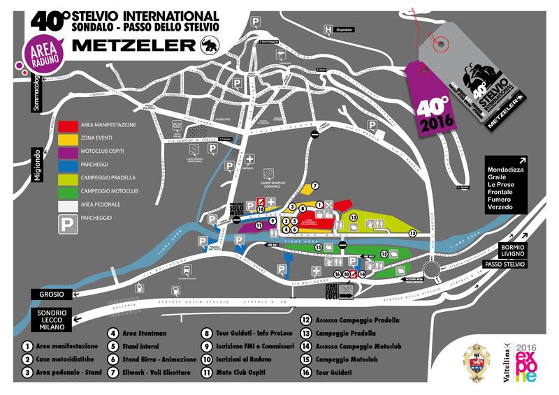 Mappa Motoraduno Stelvio 2016