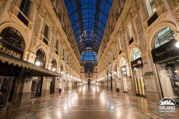 Milano in centro - La Galleria (credits Milano Panoramica)