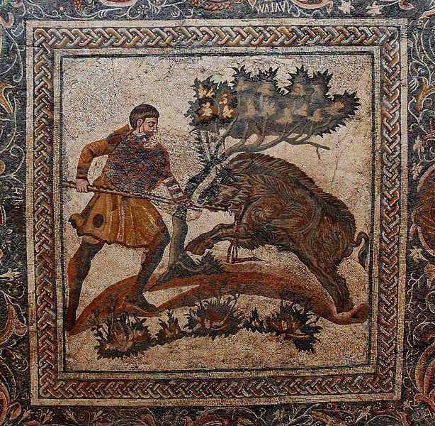 Mosaico de Las Tiendas - Helen Rickard [CC BY 2.0], attraverso Wikimedia Commons