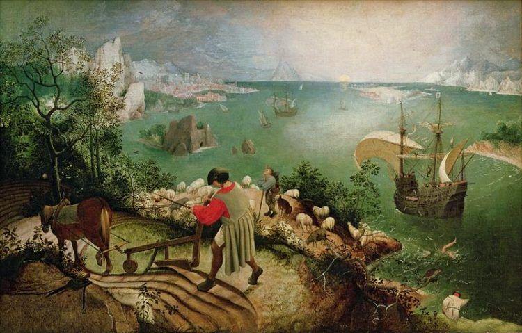 """Risultato immagini per Pescatori sul fiume dipinto fiamminghi"""""""