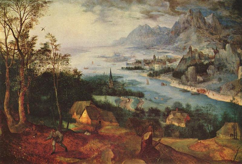 Pieter Bruegel il Vecchio, Parabola del seminatore, 1557 - Public Domain via Wikipedia Commons