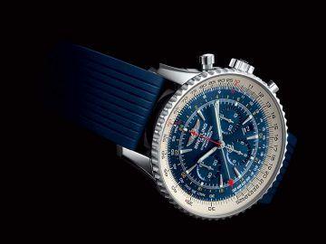Breitling Navitimer GMT Aurora Blue_MilanoPlatinum