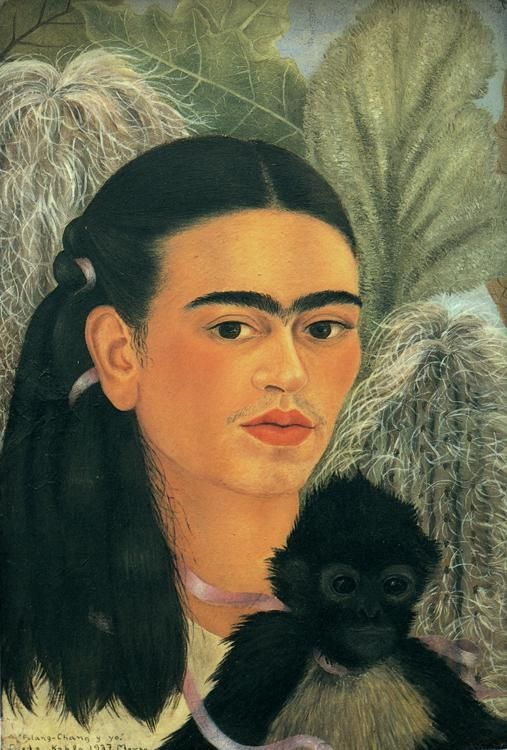 Frida Kahlo, Fulang Chang e io (1937), New York, MoMa Museum of Modern Art - Pinterest