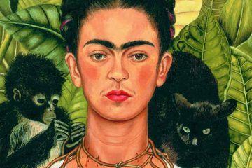 La natura selvaggia nelle opere di Frida Kahlo - MilanoPlatinum