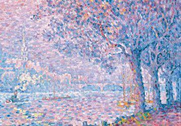 Paul Signac_Saint-Cloud_1903_olio su tela_collezione privata