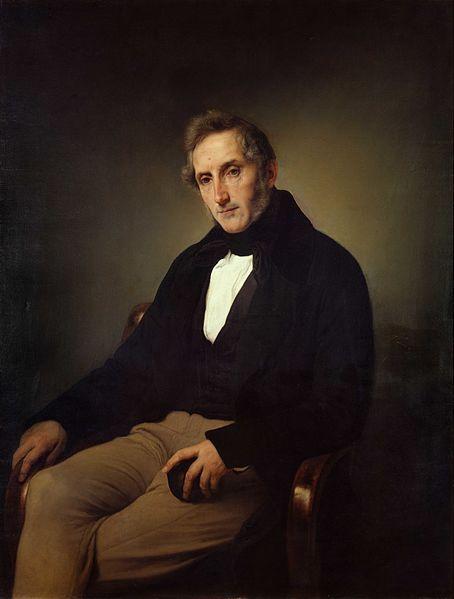 Ritratto di Alessandro Manzoni - Francesco Hayez [Public domain], attraverso Wikimedia Commons