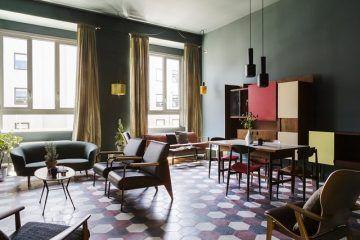 Apre a Milano casaBASE, la formula di ospitalità tra creatività e innovazione_sala comunue_MilanoPlatinum