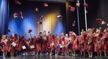 Brillantmont School, il momento dei diplomi