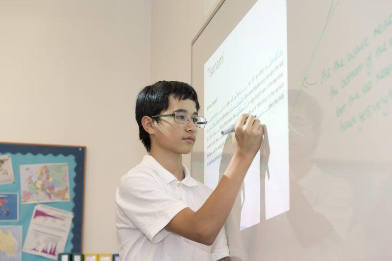 brillantmont school studente