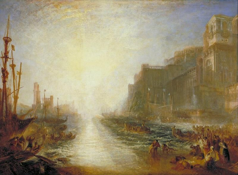 William Turner, Regolo, 1828, Londra, Tate Gallery - Public Domain via Wikipedia Commons