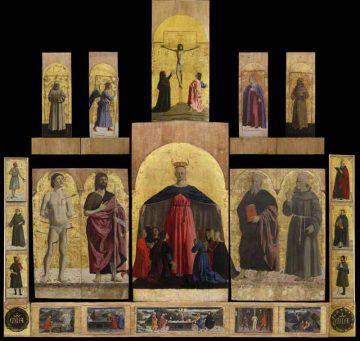 Madonna-della-Misericordia_polittico_Sansepolcro, Museo Civico