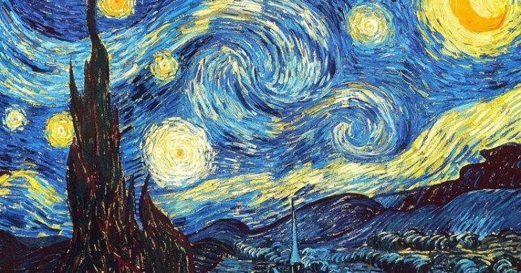 Vincent van Gogh, Notte stellata