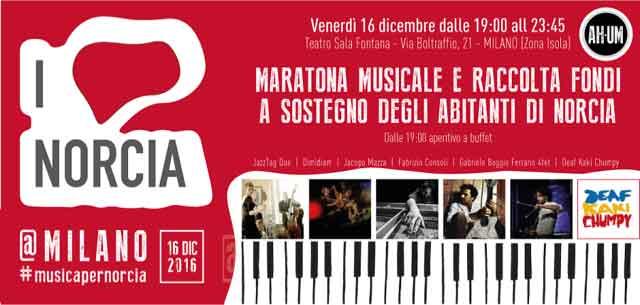 I LOVE NORCIA @MILANO