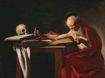 Caravaggio-San-Girolamo-scrivente