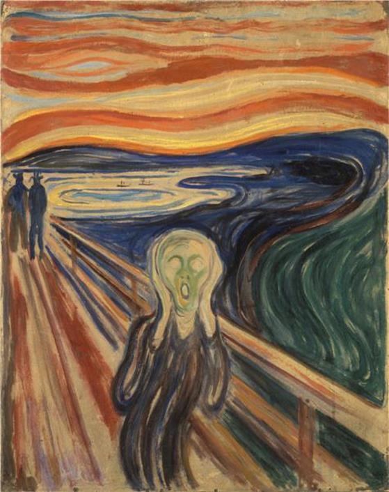 E. Munch, Il grido, 1910, Munch Museum, Oslo, Norway - Wikiart