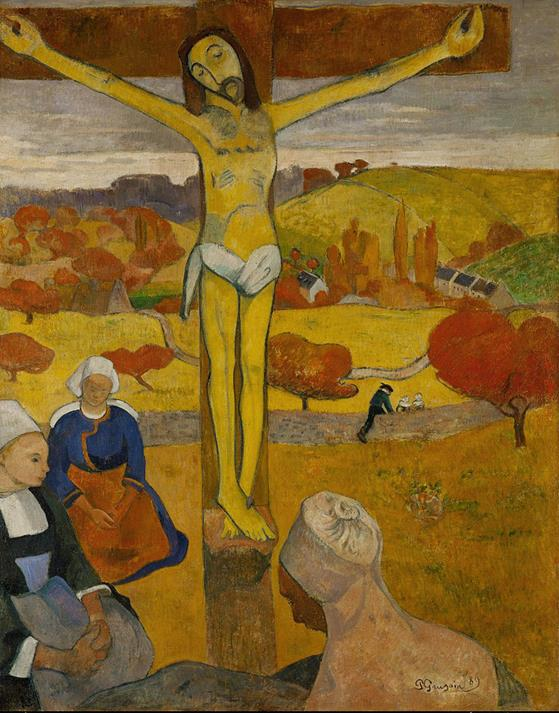 Paul Gauguin, Il Cristo giallo, 1889 - Public Domain via Wikipedia Commons