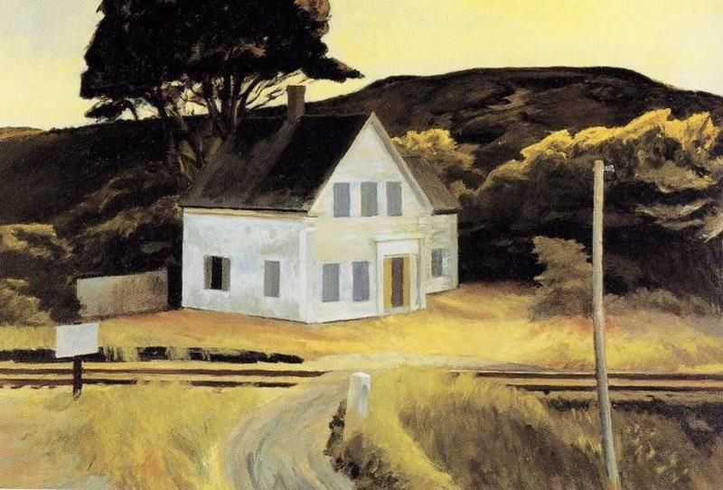 Edward Hopper, Cape Cod in October, 1946 - Pinterest