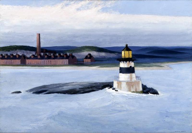 Edward Hopper, Five A.M., 1937 - Wikiart