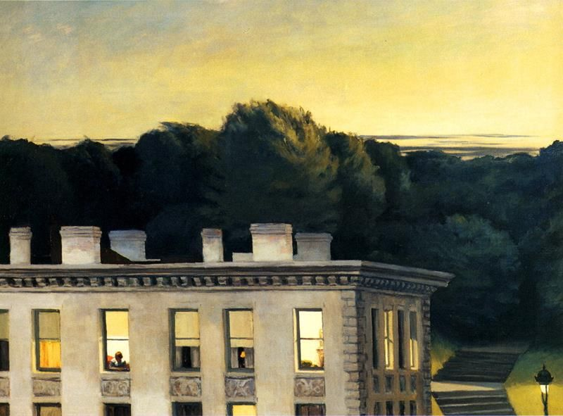 Edward Hopper, House at Dusk, 1935, Virginia Museum of Fine Arts, Richmond - Flickr