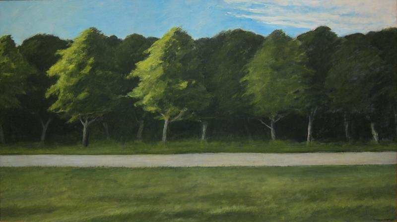 Edward Hopper, Road and Trees, 1962 - Flickr