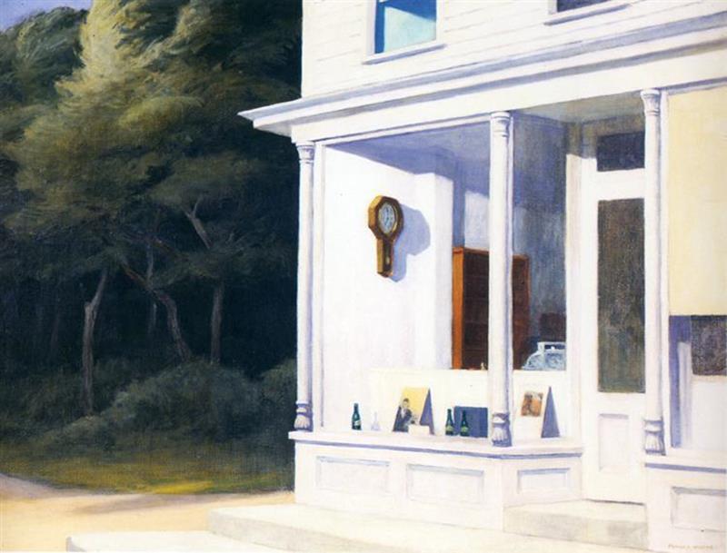 Edward Hopper, Seven A.M., 1948 - Wikiart
