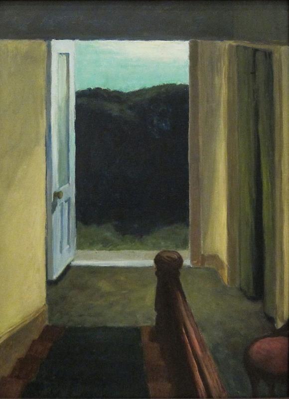 Edward Hopper, Stairway, 1949 - Flickr