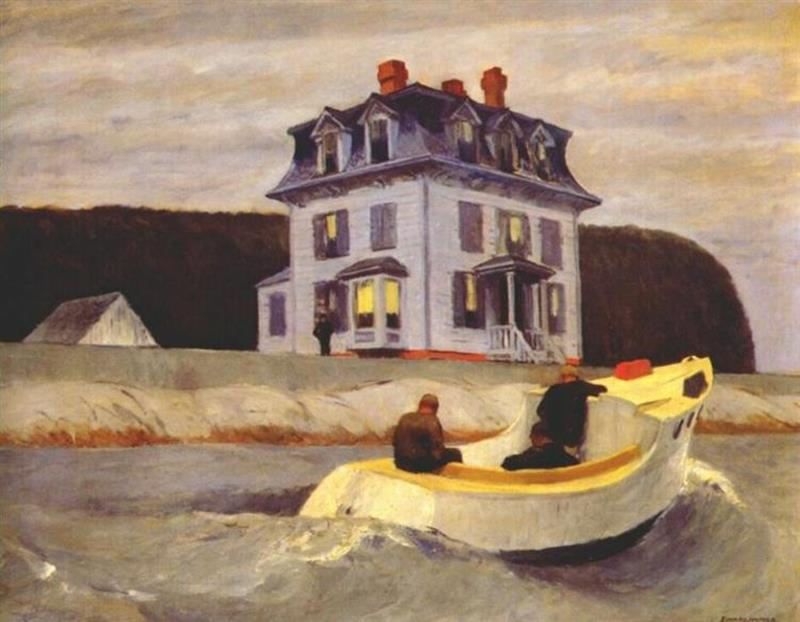 Edward Hopper, The Bootleggers, 1925 - Wikiart