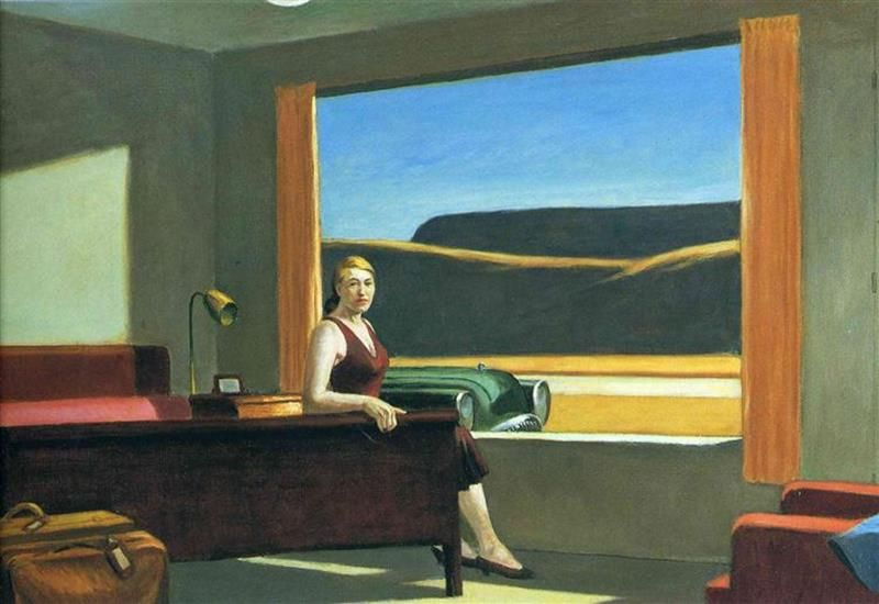 Edward Hopper, Western Motel, 1957 - Wikiart