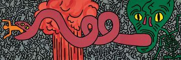 Keith-Haring,-Untitled,-June-11-1984,-acrilico-su-tela,-238,8-x-716,3-cm,-Collezione-privata-©-Keith-Haring-Foundation