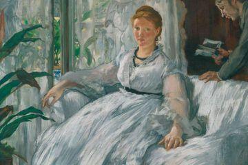 Édouard Manet, La lettura, 1865-1873, Olio su tela, 61 x 73,2 cm, Parigi, Musée d'Orsay © René-Gabriel Ojéda / RMN-Réunion des Musées Nationaux/ distr.