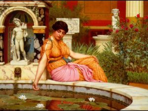 A_Lily_Pond_John-William-Godward-[Public-domain],-via-Wikimedia-Commons