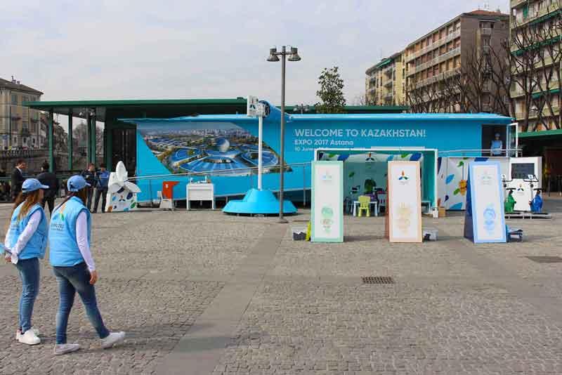 A milano il caravan di expo 2017 for Expo milano 2017