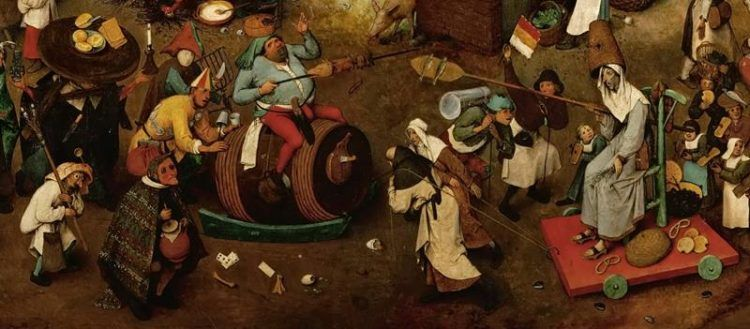 Pieter Bruegel il Vecchio, Lotta tra Carnevale e Quaresima - MilanoPlatinum