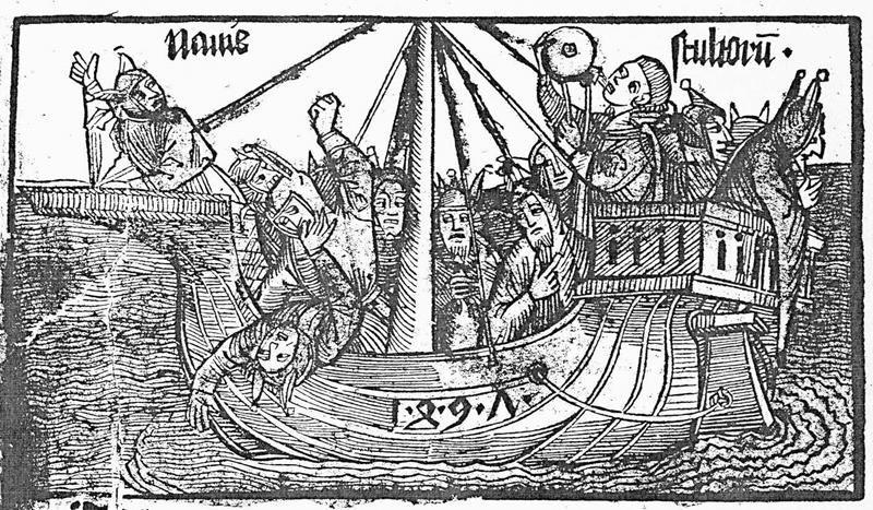 Albrecht Dürer, Das Narrenschiff, 1494 - Public Domain via Wikipedia Commons