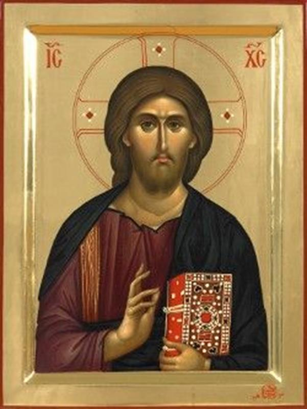 Byzantine Icon of Christ ( Monastery of Vatopedi, Mount Athos, Greece) - Pinterest