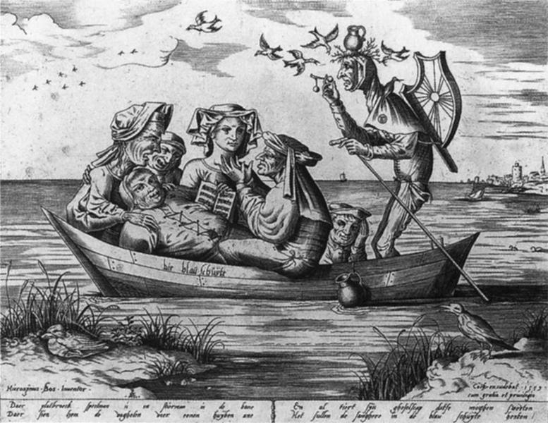 Pieter van der Heyden, Die blau Schuyte, 1559 - Public Domain via Wikipedia Commons