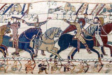 Bayeux_Tapestry_scene55_William_Hastings_battlefield_Di-Myrabella-(Opera-propria)-[Public-domain-o-CC0],-attraverso-Wikimedia-Commons