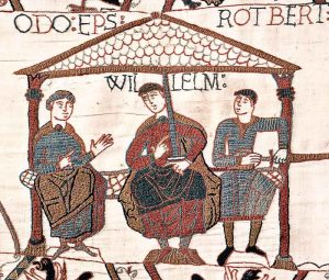 Bayeuxtapestryodowilliamrobert_Di-12th-century-[Public-domain],-attraverso-Wikimedia-Commons