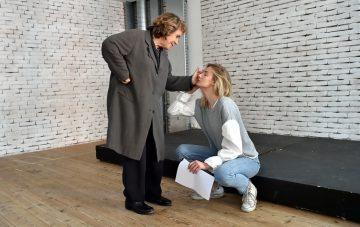 Eva Riccobono con Andrée Ruth Shammah _ph Duilio Piaggesi