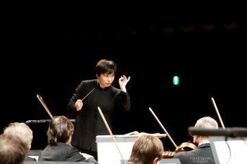 Zhang Xian dirige laVerdi con Cominati, Santaniello, Freiherr von Dellingshausen e Grigolato solisti - foto Paolo Dalprato (2)