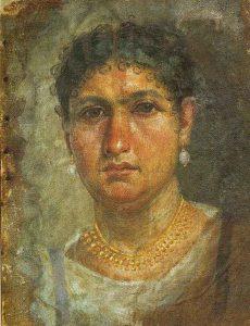 """Ritratto detto """"di Aline"""", Museo Egizio di Berlino - Public-Domain-via-Wikipedia-Commons."""