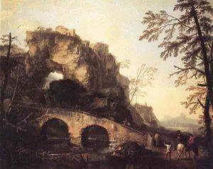 Salvator-Rosa,-Il-ponte-rotto,-1645-48-ca.,-Palazzo-Pitti,-Firenze---Pinterest