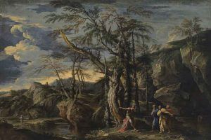 Salvator-Rosa,-Saint-John-the-Baptist-Revealing-Christ-to-the-Disciples,-1655---Public-Domain-via-Wikipedia-Commons