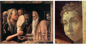 Andrea Mantegna, Presentazione al tempio, 1455, GemÑldegalerie, Berlino