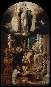 G. Mazzola Bedoli, Pala dell'Immacolata, 1533-1538, Galleria Nazionale, Parma