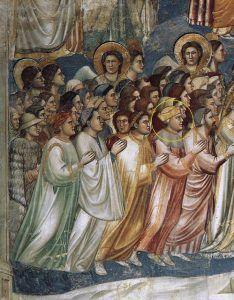 Giotto, Il Giudizio universale, particolare, 1306 ca., Cappella degli Scrovegni, Padova